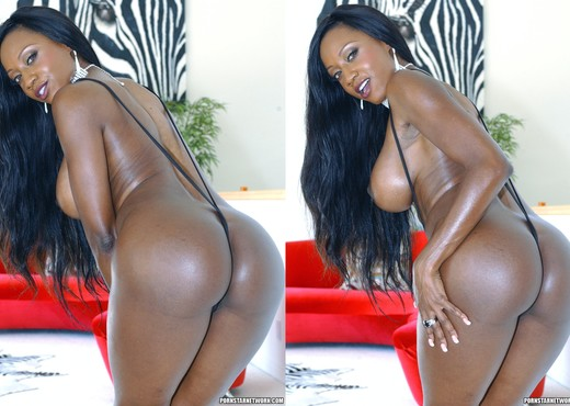 Diamond Jackson was Built for Taking a Big Black Cock - Ebony HD Gallery