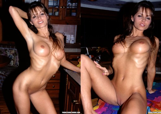 Smokin' Brunette Lori Michaels Fucks and Gets a Facial - Hardcore TGP