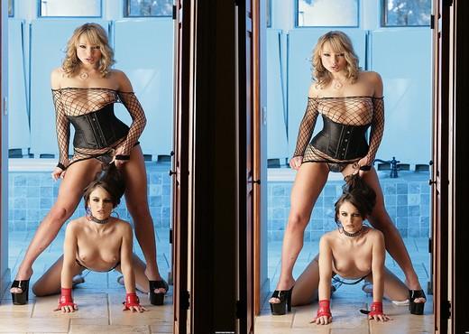 Jenna Presley and Maya Hills Worship Each Other - Lesbian Porn Gallery