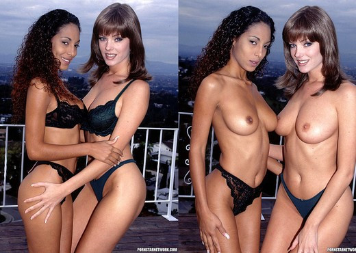 Avalon and Dee - Two Very Inviting Brunettes in a Threesome - Hardcore Sexy Photo Gallery