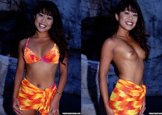 Leanni Lei - Cute Asian Gets a 2 on 1 - Asian Image Gallery