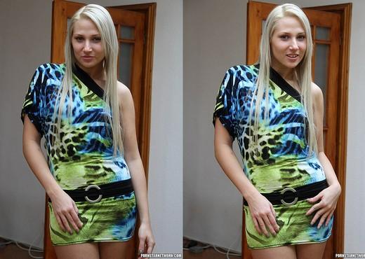 Viktoria Diamond Strips and Gives a POV Blowjob - Blowjob Sexy Gallery