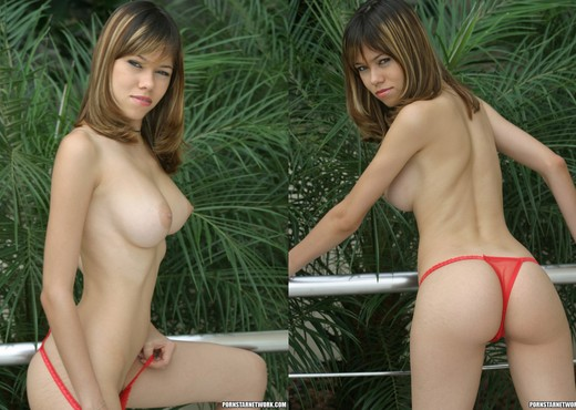 Alessandra is Up to the Interracial Challenge - Interracial Nude Gallery