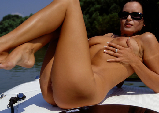 Brigitte Gets Boned in the Bum on a Boat - Anal Hot Gallery