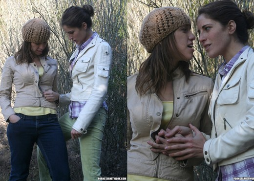 Audrey Rose and Kara Price Go for a Walk - Lesbian Picture Gallery