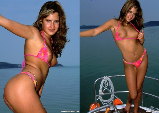 Jenny Wings Goes Sailing and Gets Anal - Anal Image Gallery