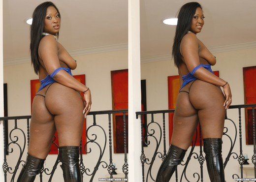 Aryana Starr Looks As Good As She Feels - Ebony TGP