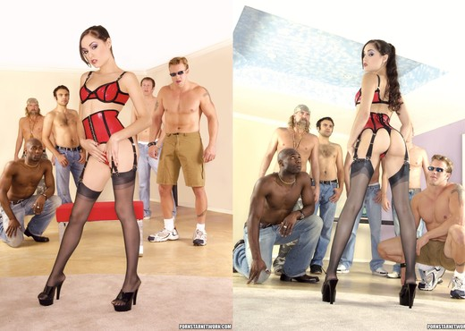Very nice!! Sasha grey gang bang