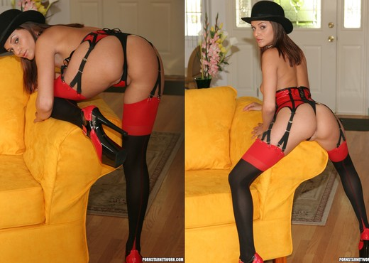 Naudia Nyce is a True Fuck Doll - Anal Image Gallery