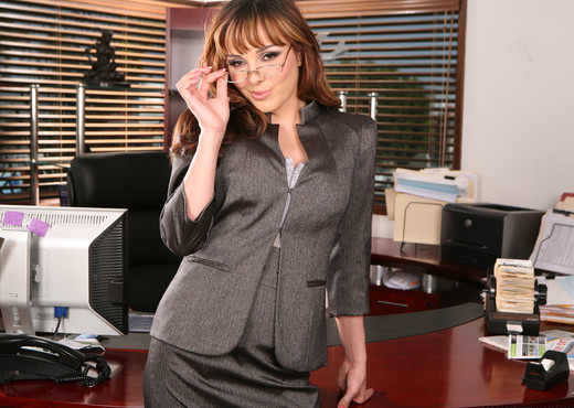 Cytherea and Lylith Lavey Put Their Stamp on Office Sex - Hardcore HD Gallery