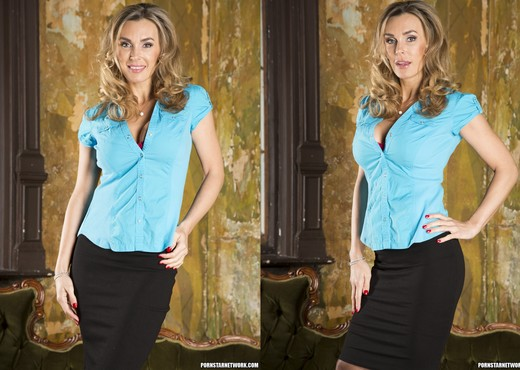Tanya Tate Shows the Brats How It's Done - Solo Image Gallery