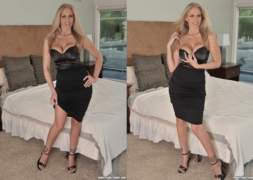 Julia Ann Takes Him Inside - MILF Sexy Photo Gallery