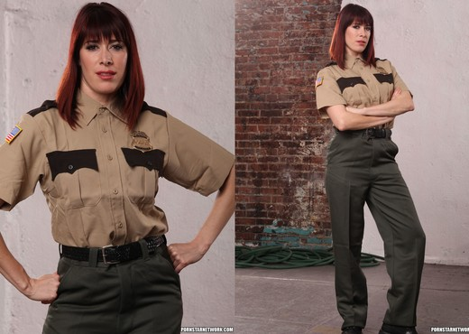 Odile - Softer Side of a Hard-Ass Prison Guard - Solo TGP