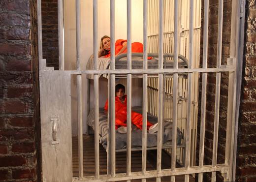 Natasha Starr and Nikki Hearts - Prison Love - Lesbian HD Gallery