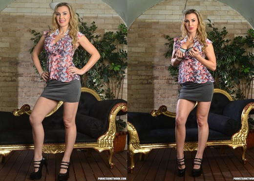 Tanya Tate Gets Hold of Lucia Love - Lesbian Nude Gallery