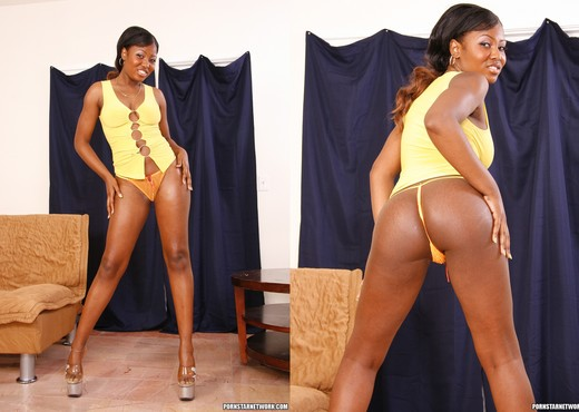 Miss Simone - Cute for Thick - Ebony Porn Gallery