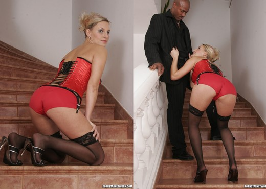 Patricia - Quick Before You Go - Interracial Nude Gallery
