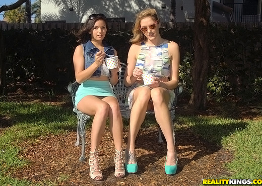 Sabrina Banks & Shae Summers - Lip Locked - We Live Together - Lesbian Image Gallery