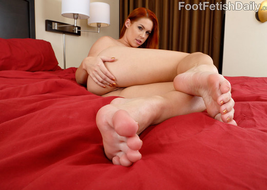 Horny Redhead Spreads Her Pussy Then Gets Pounded - Feet Image Gallery
