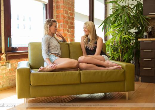 Stripped - Kenna J. & Lena N. - Lesbian Nude Pics
