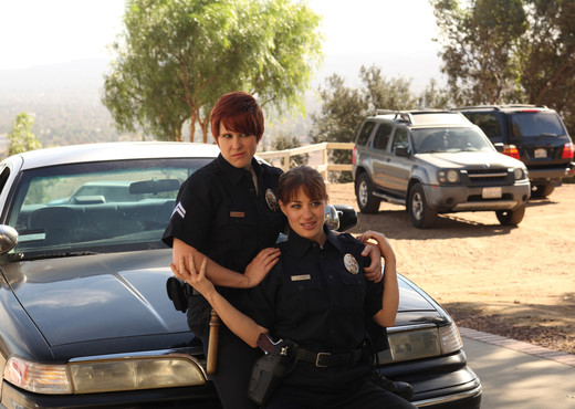 Jessica, Lily, and Missy - Playing Bad Cop, Bad Cop - Lesbian Hot Gallery