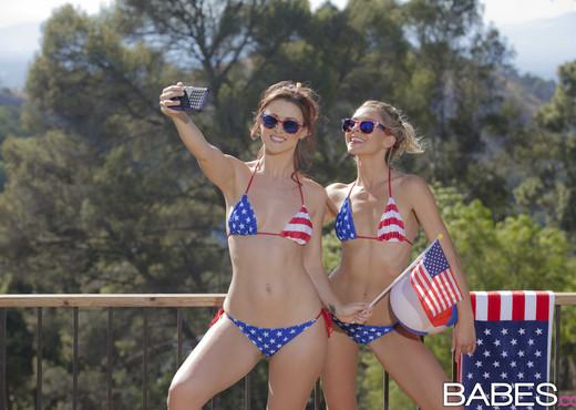 Kisses Don't Lie - Karlie Montana, Lena Nicole - Lesbian Nude Pics