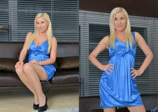 Vanessa Hell - Vision In Blue - MILF Nude Gallery