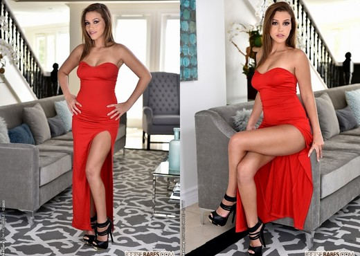 Karter Foxx - Lady in Red - Footsie Babes - Hardcore Nude Pics