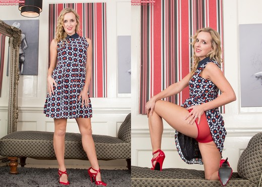 Skye Taylor Red Underwear - Solo Sexy Gallery