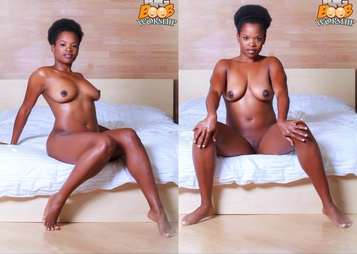 Perfect Symmetry - Alli - Big Boob Worship - Ebony TGP