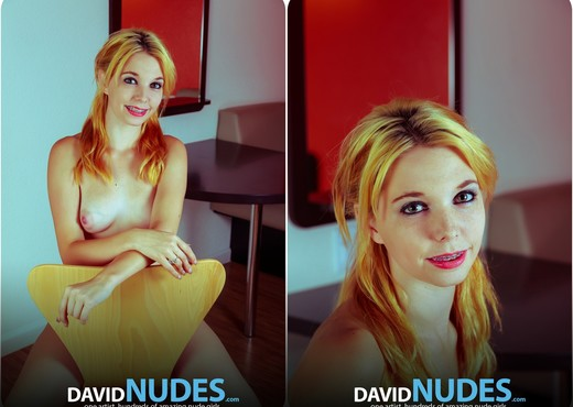 Naughty Nudie Polaroids - Kelsey - David Nudes - Solo TGP