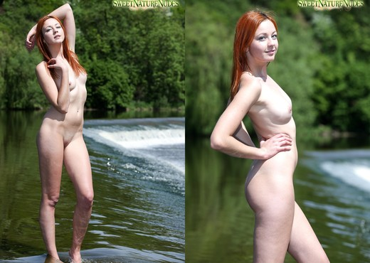 Nude Waterfalls - Elen - Sweet Nature Nudes - Solo HD Gallery