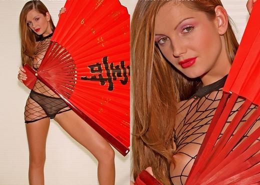 Sandra Shine - Red Fan - Solo Picture Gallery