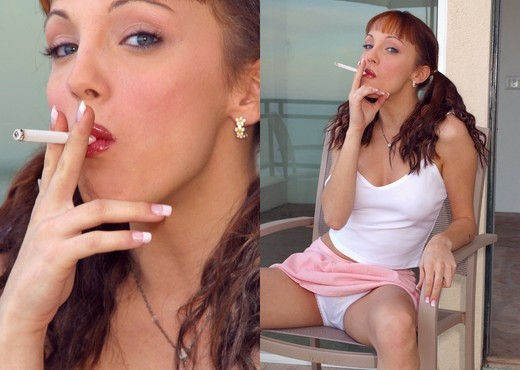 Tiffany - Smoking - Solo HD Gallery