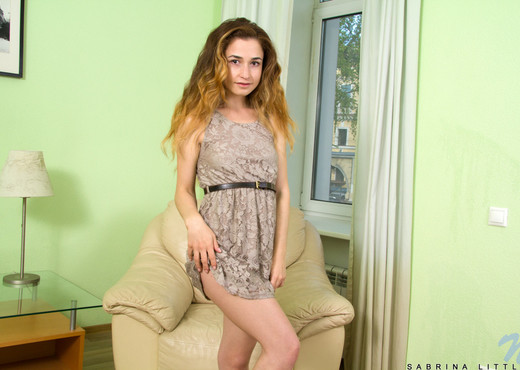 Sabrina Little - tiny teen getting nude - Teen TGP
