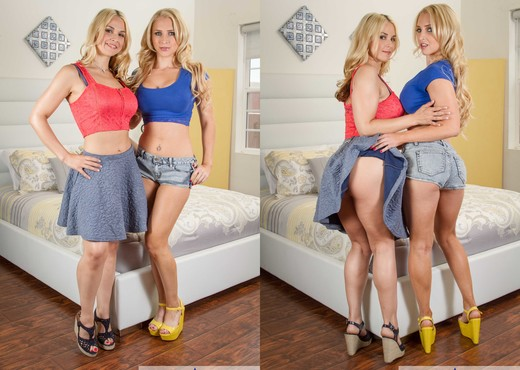 Alix Lynx, Sarah Vandella - 2 Chicks Same Time - Hardcore Hot Gallery