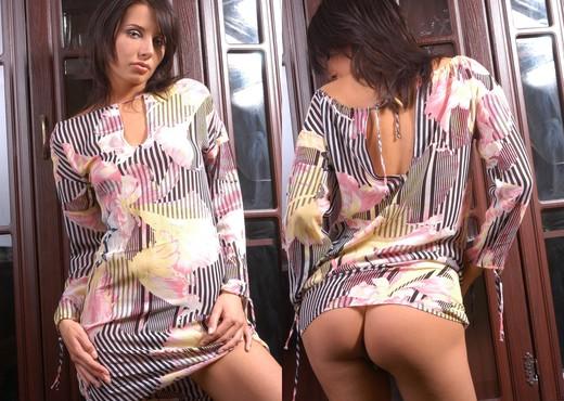 Thin robe - Danielle - Solo Nude Gallery