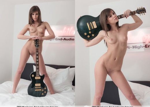 Jam Session - Caprice - Solo Porn Gallery