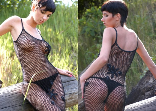 Black mesh - Erica - Zemani - Solo Hot Gallery
