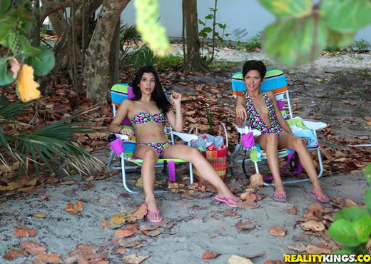 Gina Valentina, Ariana Cruz - 8th Street Latinas - Latina Picture Gallery