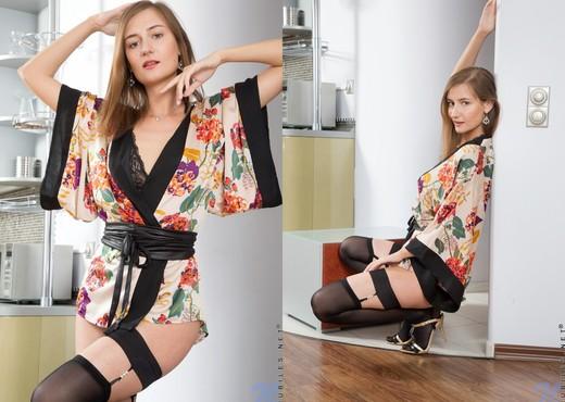 Melody Mae japanese dress - Nubiles - Teen Nude Pics