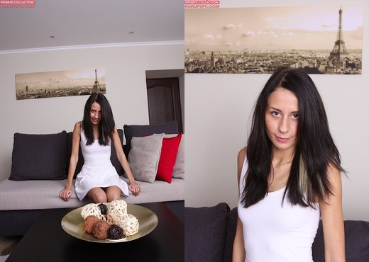 Elizabete playing with herself - Solo Porn Gallery