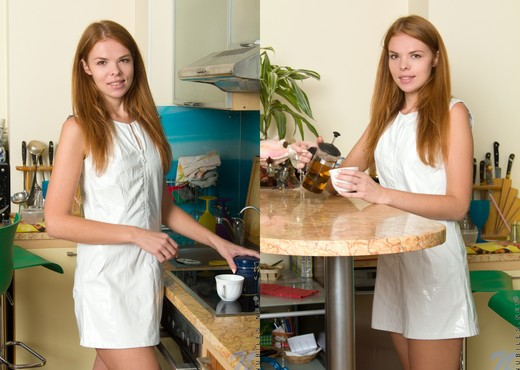 Brandi - kitchen vibes - Teen Sexy Photo Gallery