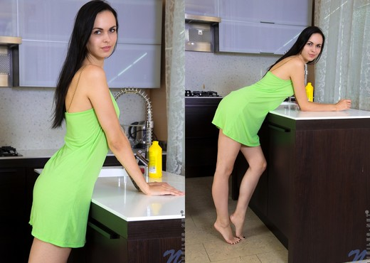 Yani Yani - getting the dishes done - Teen Nude Pics