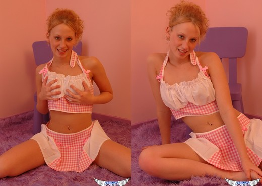 Lucky - Pink Checkered - SpunkyAngels - Solo Sexy Photo Gallery