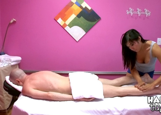 Mia Li, Angelina Chung - Hard At Work - Happy Tugs - Asian TGP