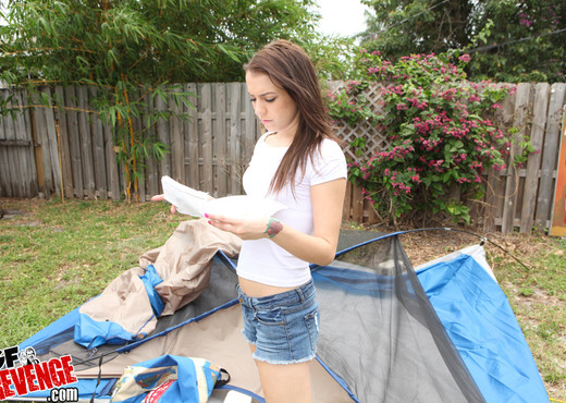 Sweetie Paytton - Camping Cutie - GF Revenge - Amateur Hot Gallery