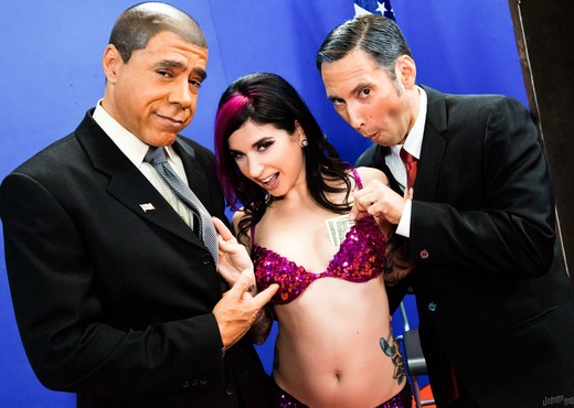 Joanna Angel, Guy DiSilva - Undecided Voter - Hardcore Picture Gallery