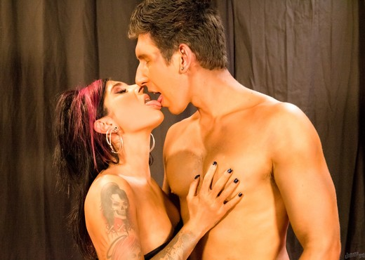 Joanna Angel - Coffee Hole Jersey Whore - Anal Picture Gallery