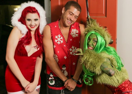 How The Grinch Gaped Christmas - Chapter 1 - Hardcore Porn Gallery
